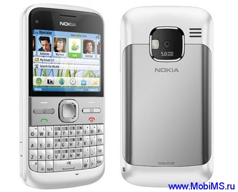 Прошивка для Nokia E5-00 RM-632 Gr.RUS sw-081.004