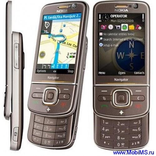 Прошивка для Nokia 6710 Navigator RM-491 Gr.RUS sw-031.022 v3