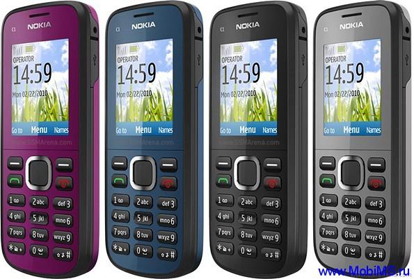 Прошивка для Nokia C1-02 RM-643 Gr.RUS sw-05.40
