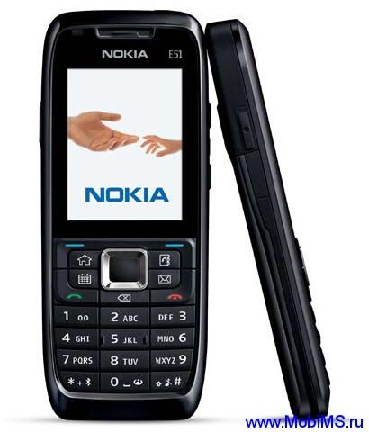 Прошивка для Nokia E51-1 RM-244 Gr.RUS sw-410.34.001 v5.0