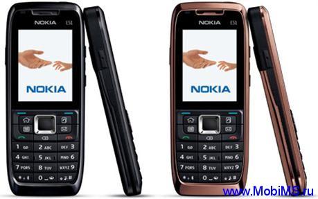 Прошивка для Nokia E51-2 RM-426 Gr.RUS sw-411.34.001 v5.0