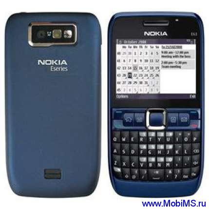 Прошивка для Nokia E63-1 RM-437 Gr.RUS sw-510.21.010