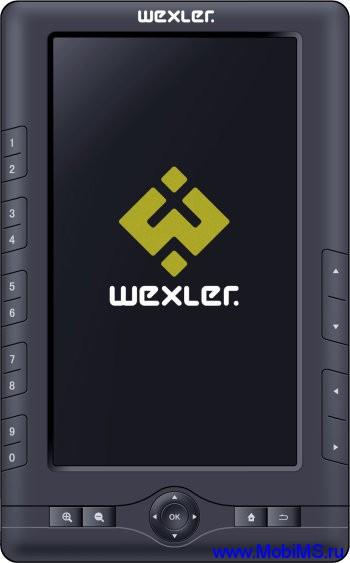 Прошивка для новой электронной книжки WEXLER.BOOK T7001 на основе TFT-матрицы