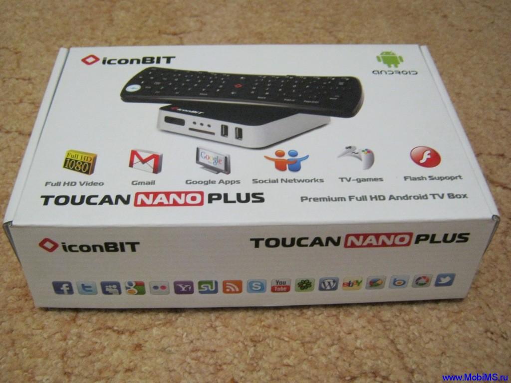 Обзор и прошивка для медиацентра iconBIT Toucan nano plus на основе ОС ANDROID