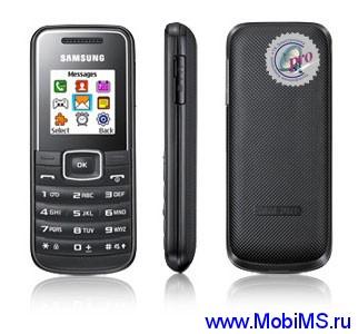 Прошивка для Samsung GT-E1050 (E1050XXKC2_TMNKC2_RD)