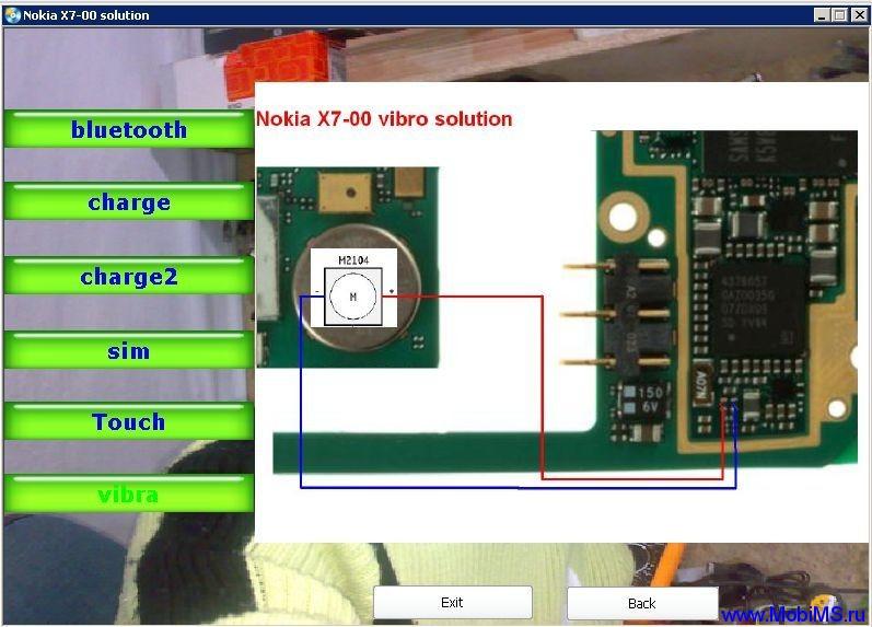 Nokia X7-00 solution