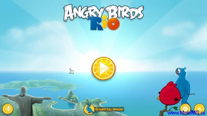 Игра для PC  Angry Birds Rio