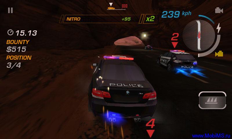Игра Need for Speed: Hot Pursuit для Android