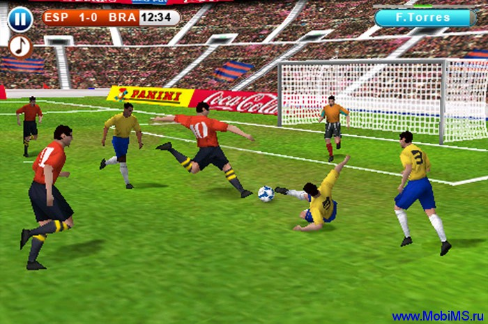 Игра для Nokia (Symbian^3) Real Football 2010 HD v1.03