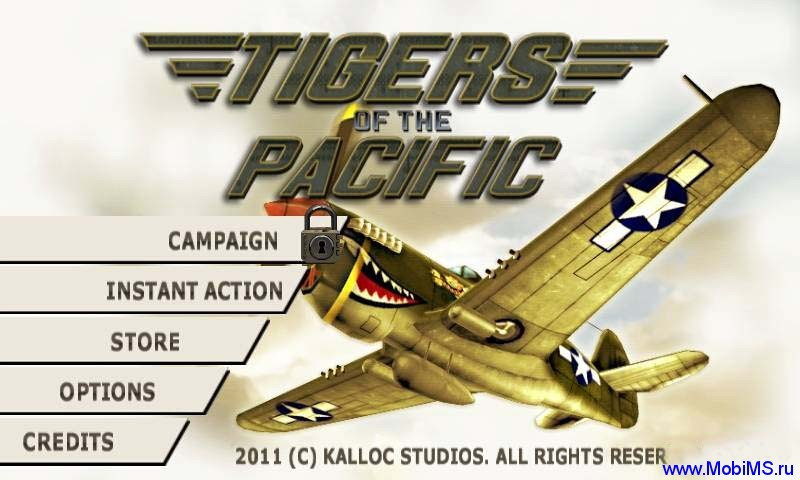 Игра Tigers of the Pacific для Android