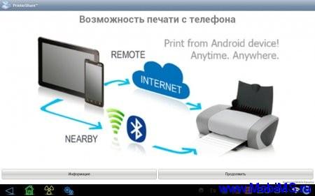 PrinterShare™ Mobile Print (обновлено до версии 6.3.0) (Печать документов с планшета)