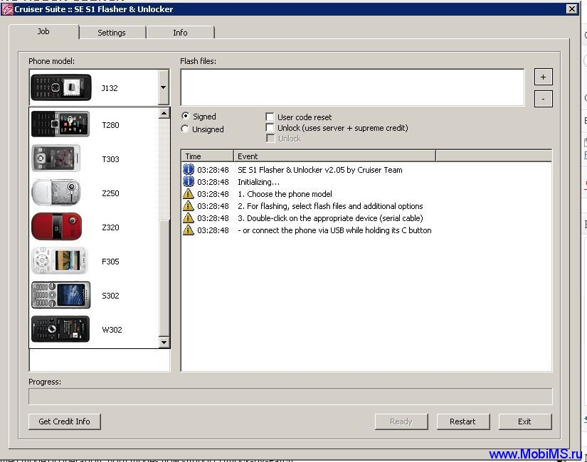 SeS1Flasher Unlocker v2.05