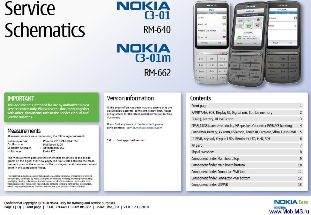 Схема (Service Schematics) для