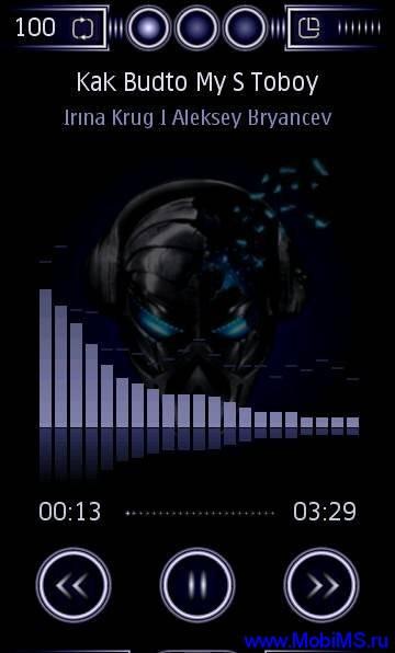 Аудиоплеер Ttpod- v.4.00(0) beta 3  для Nokia Symbian S60 v5, S^3