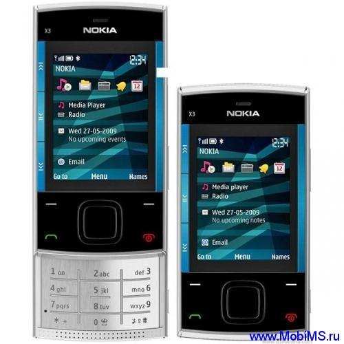 Прошивка для Nokia X3 RM-540 Gr.RUS sw-11.00