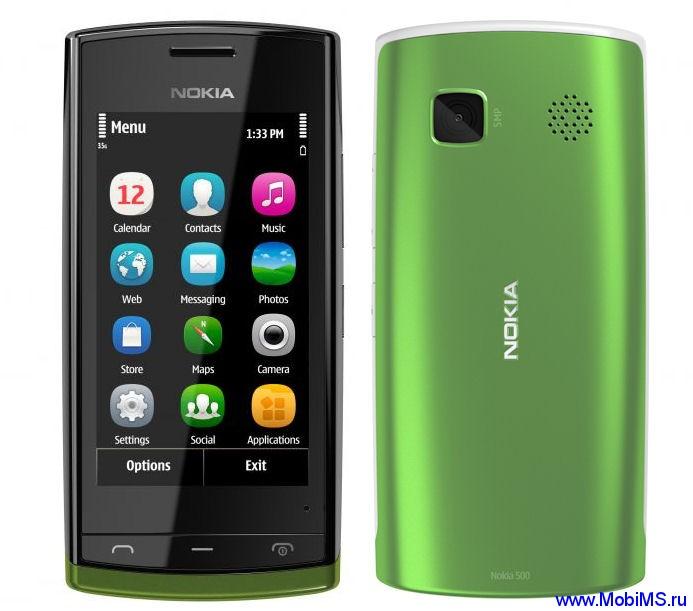 Прошивка для Nokia 500 RM-750 Gr.RUS sw-111.020.0059