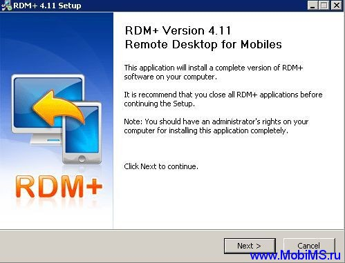 RDM+ (iPhone) v.4.11.0.0 - Remote Desktop v. 4.11