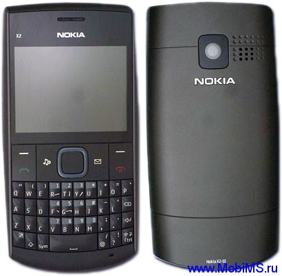 Прошивка для Nokia X2-01 RM-709 Gr.RUS sw-08.70