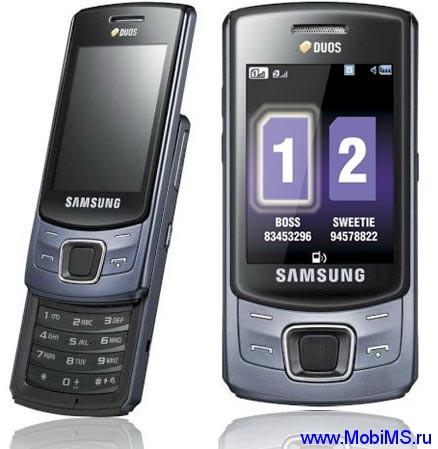 Прошивка для Samsung C6112 Duos.