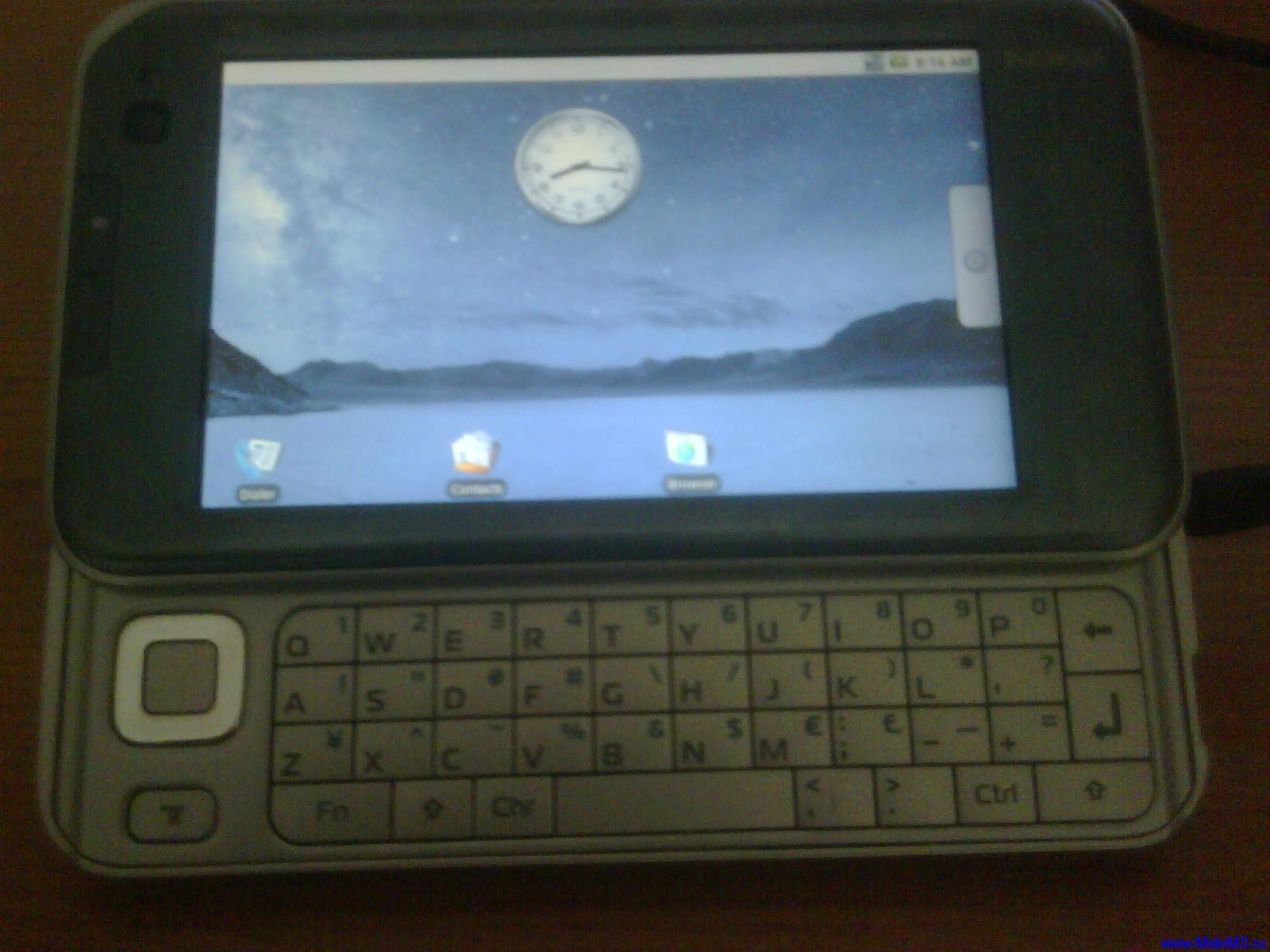 Установка Android (NitDroid) на Nokia N900