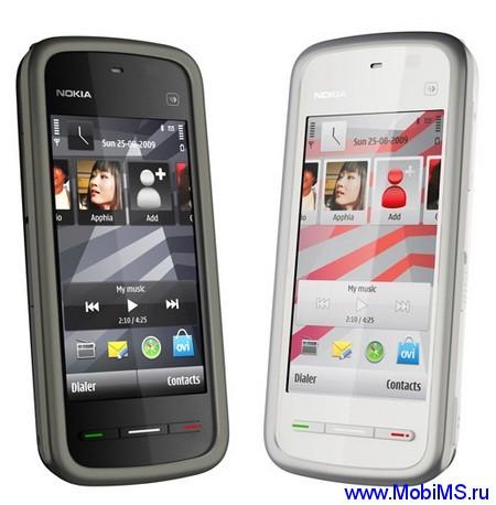Прошивка для Nokia 5230 RM-588 Gr.RUS sw-51.0.002  Light