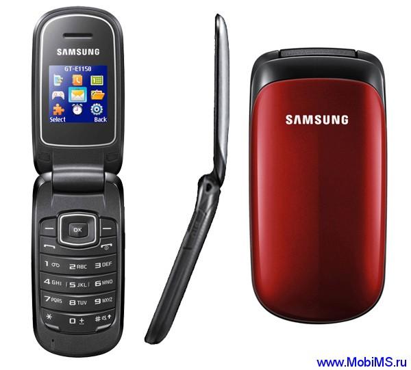 Прошивки E1150XEIL1 и E1150XEJA2 для Samsung E1150