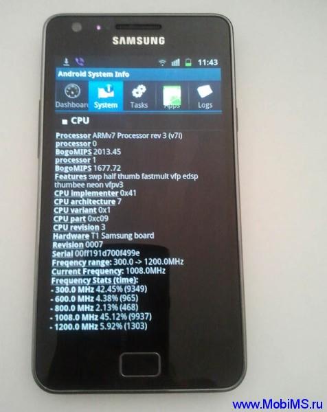Прошивка (I9100GXXKL5_I9100GXEFKL3_I9100GXXKL4_HOME) для Samsung Galaxy S II  (GT-i9100G)