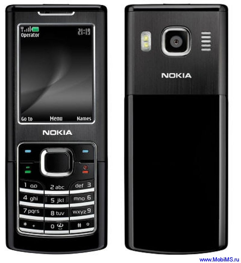 Nokia 6500 Classic прошивка