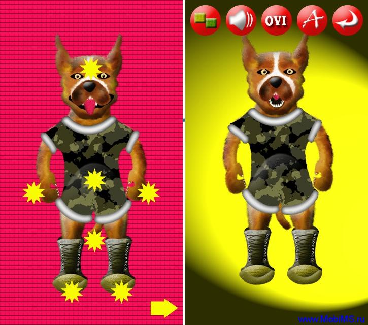 BangMe (Dog) v.2.00 для Nokia S60v5 S^3 Anna Belle