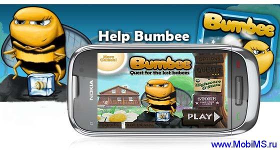 Игра Bumbee 1.0  для Nokia Symbian^3, Anna, Belle