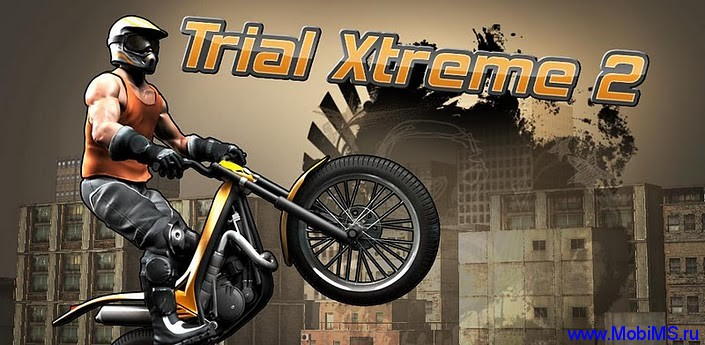Игра Trial Xtreme 2 HD для Android.