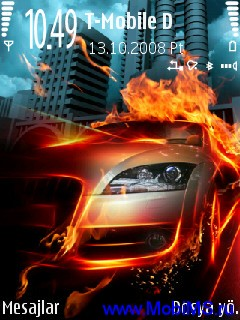 Fire Car Theme