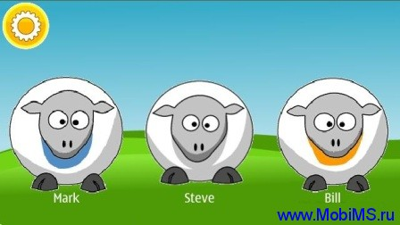 3 Talking Sheep v.1.1 для Nokia Symbian ^3, Symbian 9.4