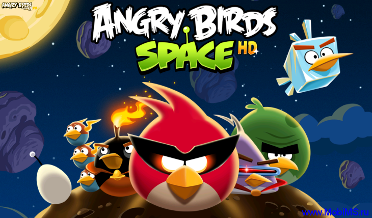 Игра для PC — Angry Birds Space (2012)
