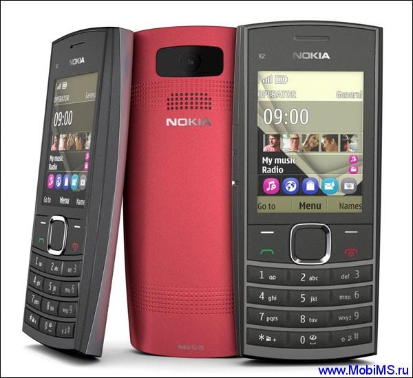 Прошивка для Nokia X2-05 RM-772 08.60a
