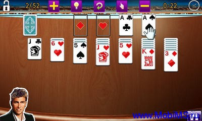 Игра Platinum Solitaire 2 для Windows Mobile.
