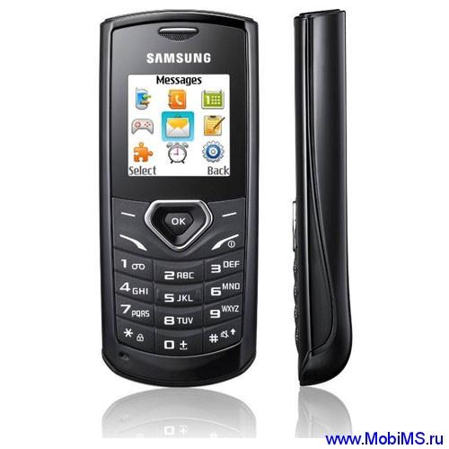 Прошивка E1170NHJD1 для Samsung E1170