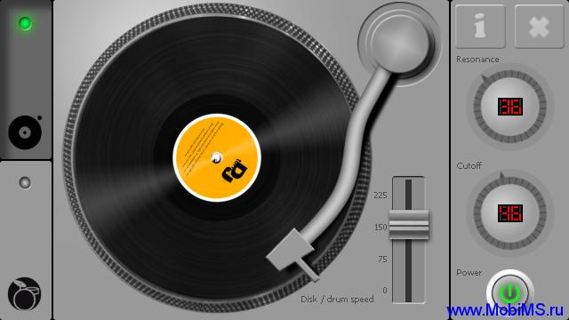 Приложение DJ Turntable v1.3 для Nokia Symbian 9.4 touch, ^3, Belle, Anna