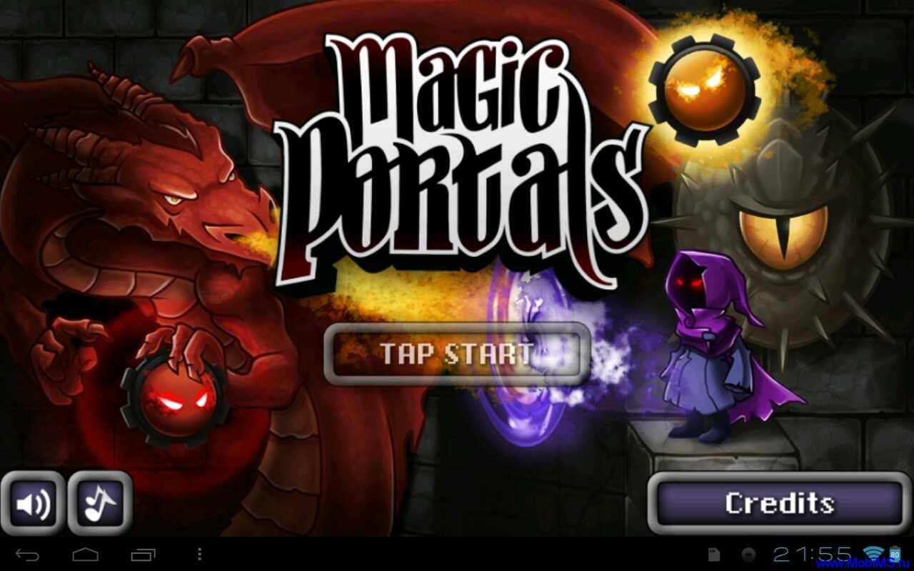 Игра Magic Portals HD v 2.2 (2012) ENG для Android