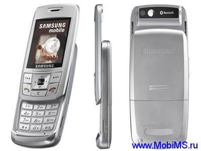 Прошивка E250XEFL1 для Samsung E250