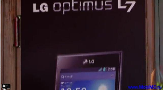 Презентация и обзор смартфона LG Optimus L7