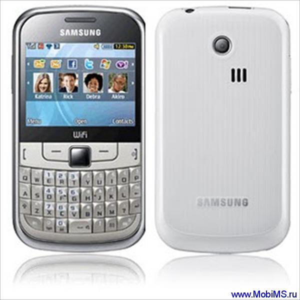 Прошивка S3350XXKK1_OXEKK1 для Samsung S3350 Chat 335