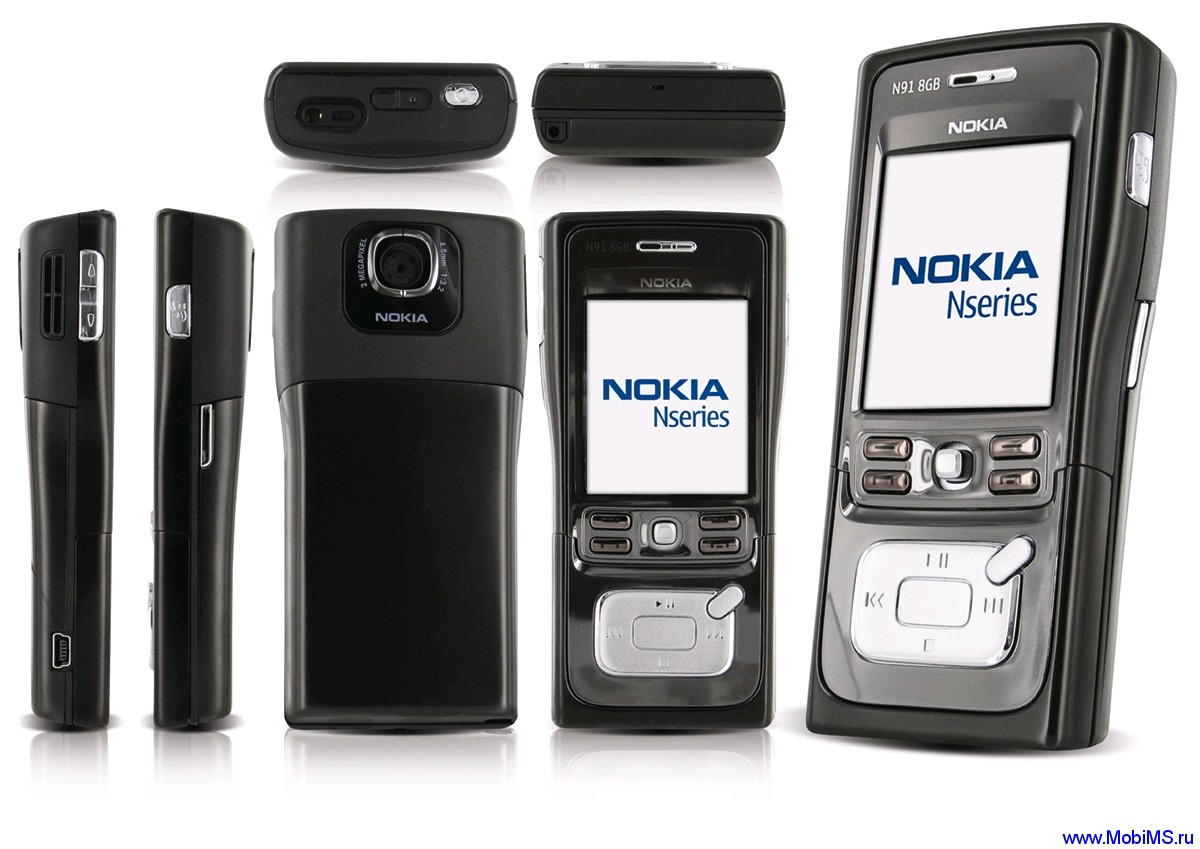 Прошивка для Nokia N91-2 (8Gb) RM-43 31.00 RUS sw-3.10.023