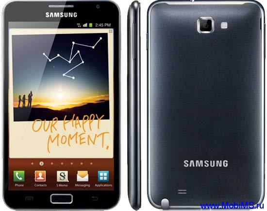 Прошивка N7000XXLPY для Samsung GT-N7000 Galaxy Note ICS 4.x.x