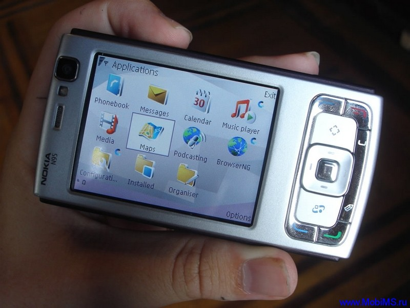 Прошивка версии 35.0.002 для Nokia N95 RM-159