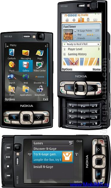 Прошивка для Nokia N95-8Gb RM-320 Gr.RUS 35.0.001 v7.0