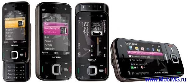 Прошивка для Nokia N85 RM-333 Gr.RUS sw-31.002 v8.0