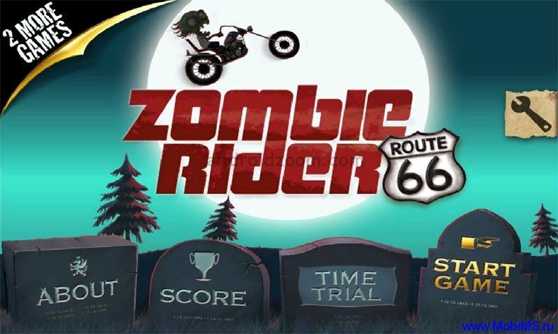 Игра Zombie Rider v1.0 для Nokia Symbian^3