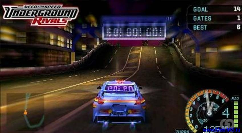 Игра Need For Speed: Underground Rivals [RUS]  для PSP