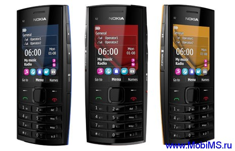 Прошивка для Nokia X2-02 RM-694 Gr.RUS sw-10.91